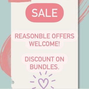 🧡 SALE! 🧡 Reasonable offers welcome! 🧡